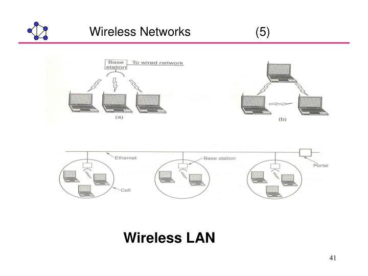 Wireless Networks                   (5)