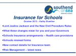 insurance for schools