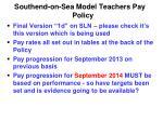 southend on sea model teachers pay policy