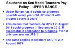 southend on sea model teachers pay policy upper range1