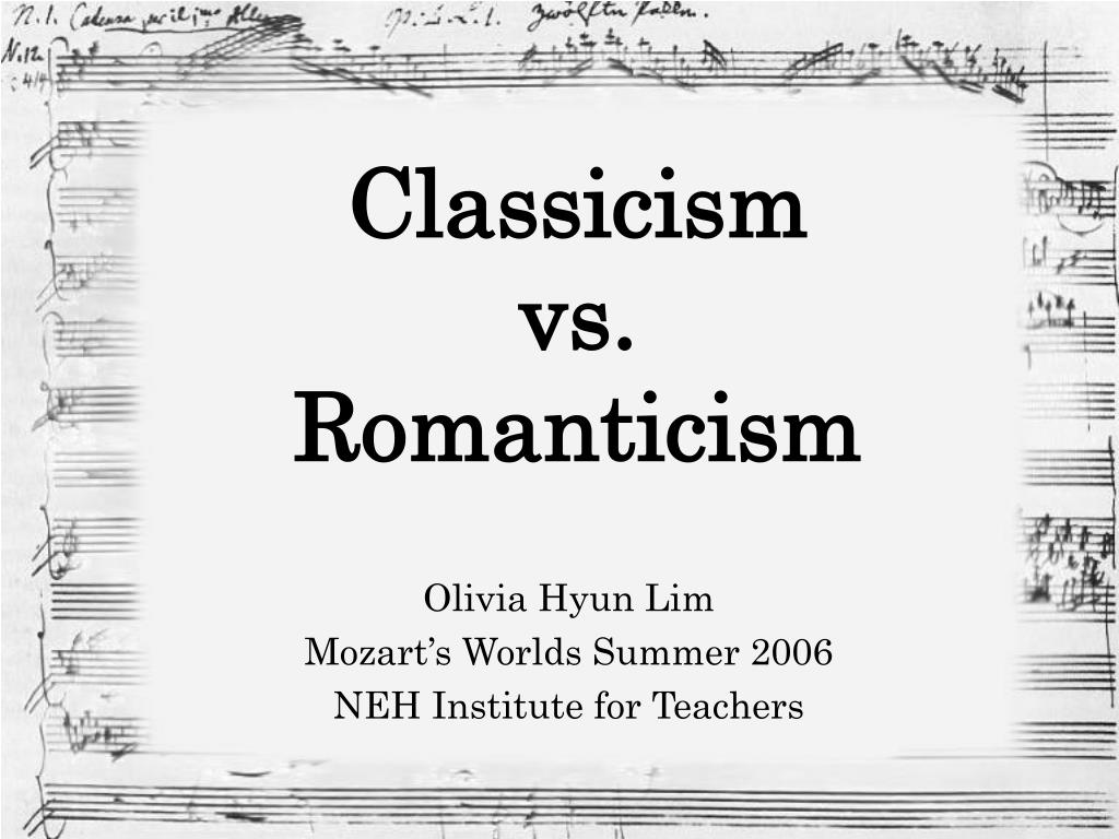 What is classicism 49