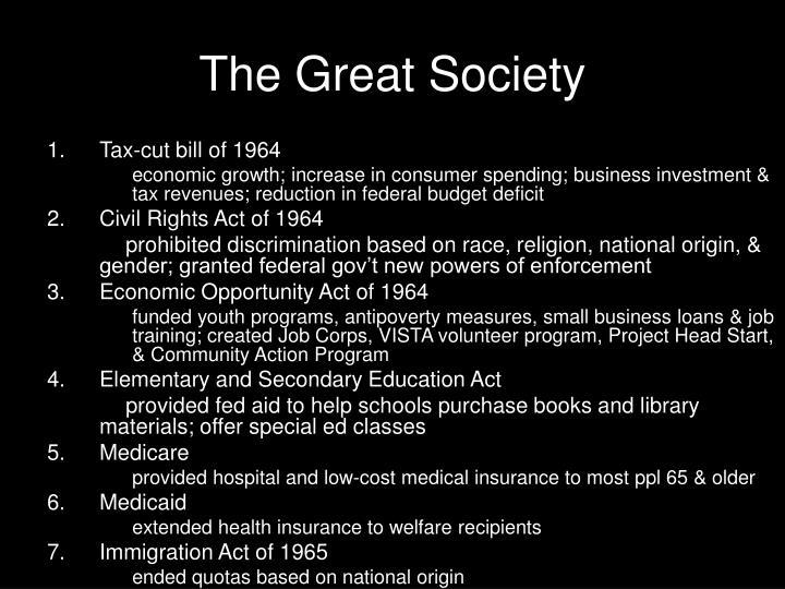 The great society1