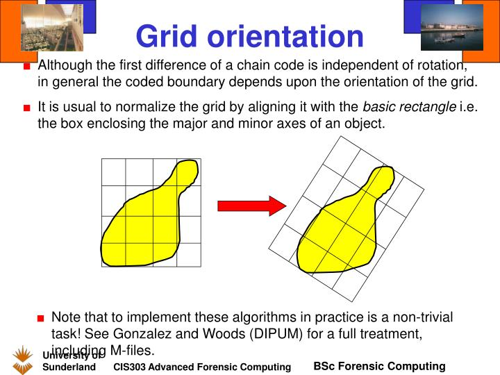 Grid orientation