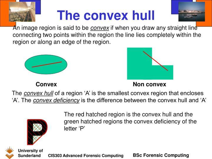 The convex hull