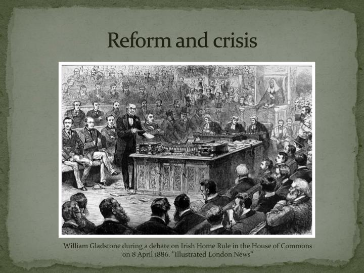 Reform and crisis