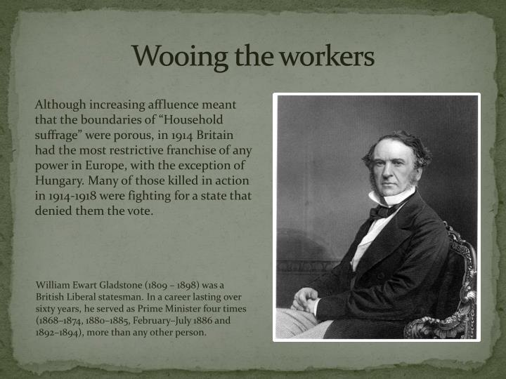 Wooing the workers