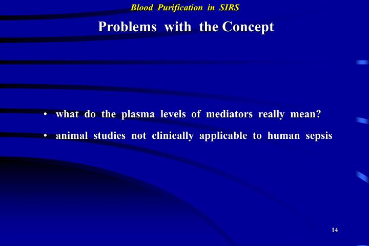 Problems  with  the Concept