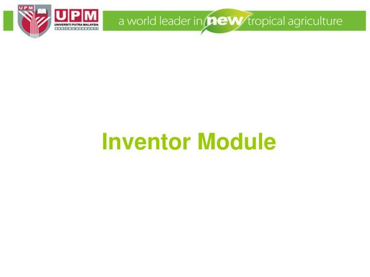 Inventor Module