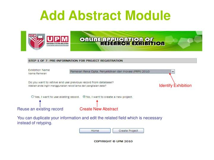Add Abstract Module