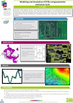 modeling and simulation of pcbs using parameter extraction tools