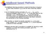 adaboost based methods1