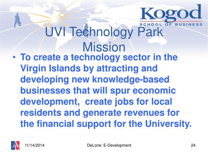 UVI Technology Park