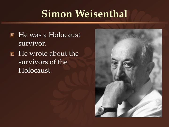 Simon Weisenthal