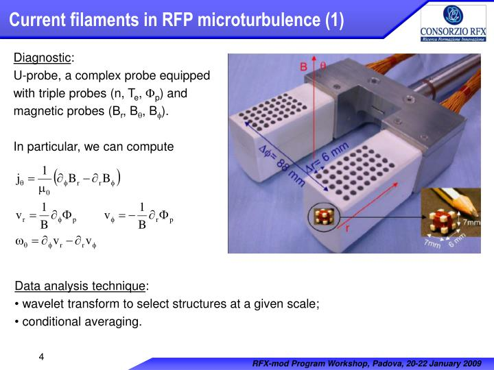 Current filaments in RFP microturbulence (1)