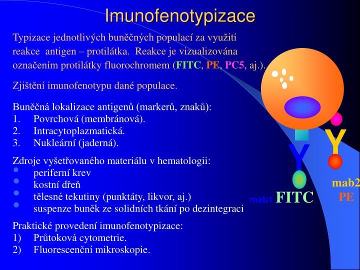 Imunofenotypizace