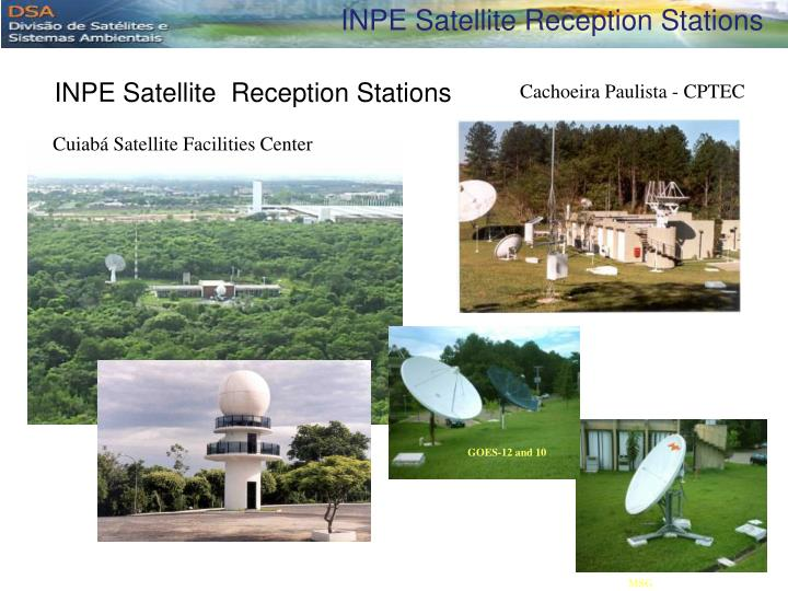 INPE Satellite Reception Stations
