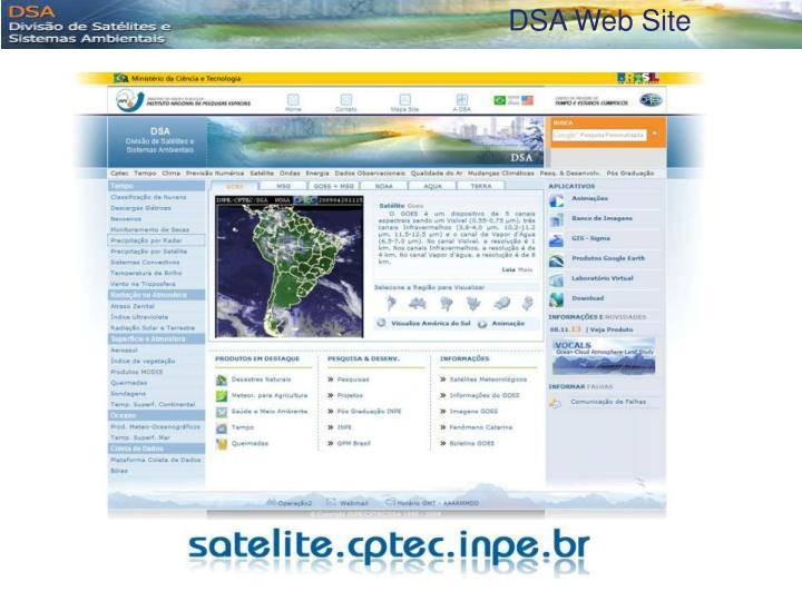 DSA Web Site