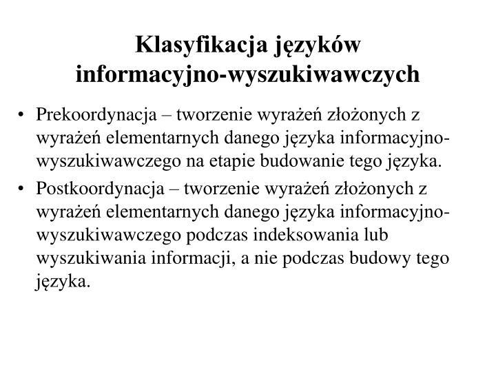 Klasyfikacja języków