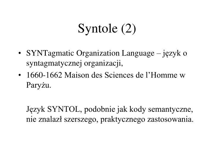 Syntole (2)