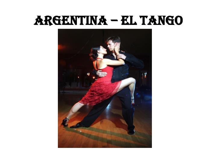 Argentina – el tango