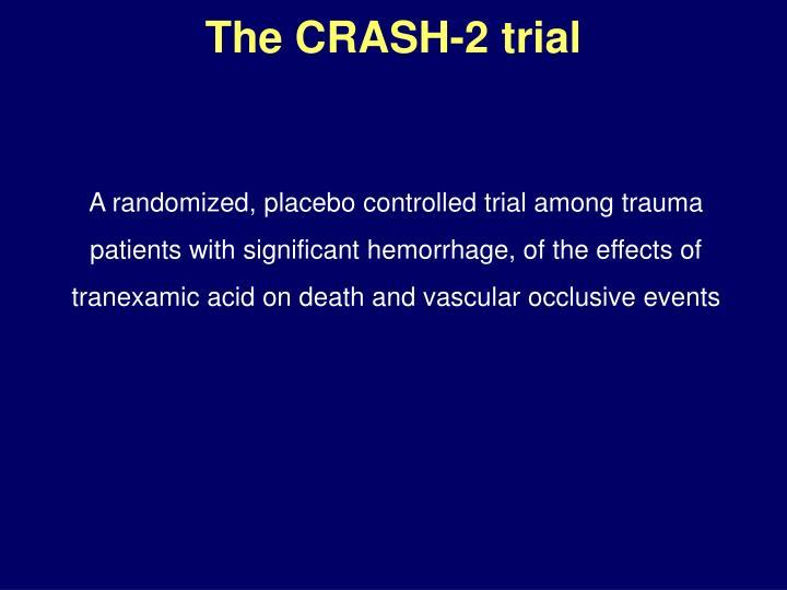 The CRASH-2 trial