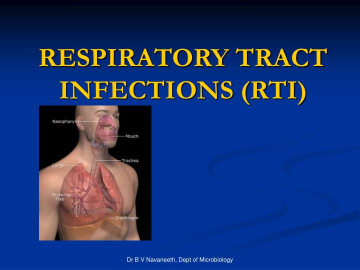 Respiratory tract infections rti
