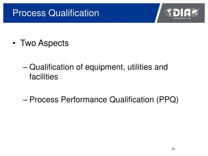 Process Qualification