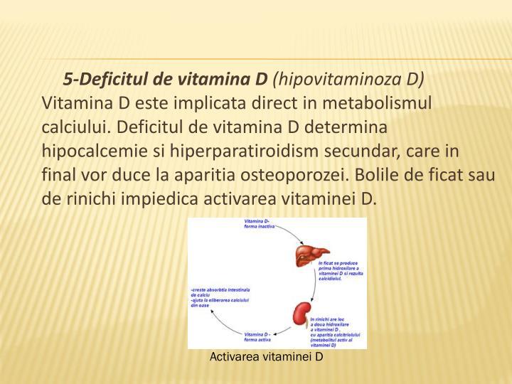 5-Deficitul de vitamina D