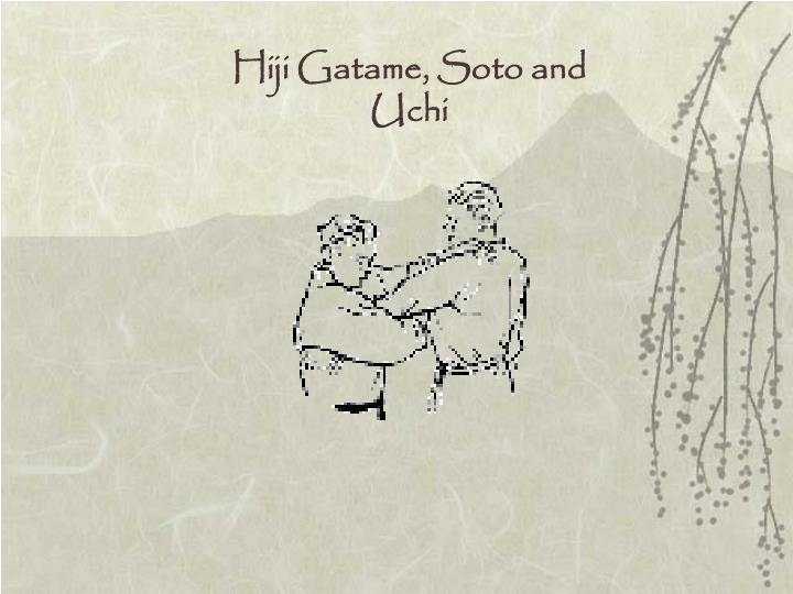 Hiji Gatame, Soto and Uchi