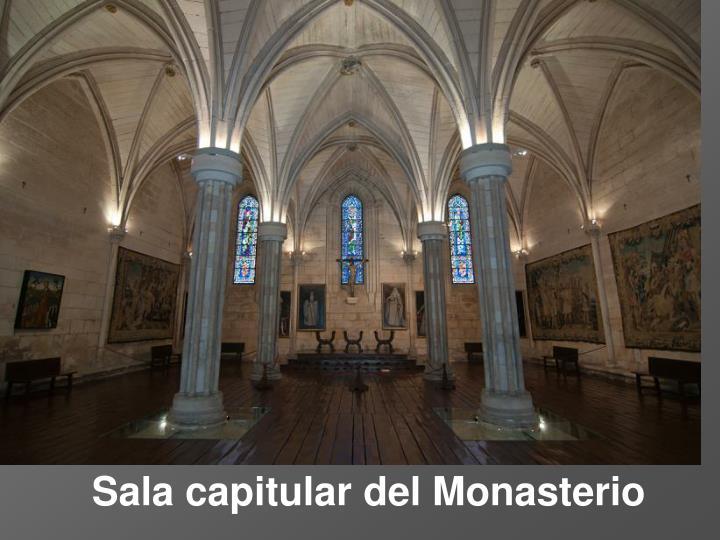 Sala capitular del Monasterio