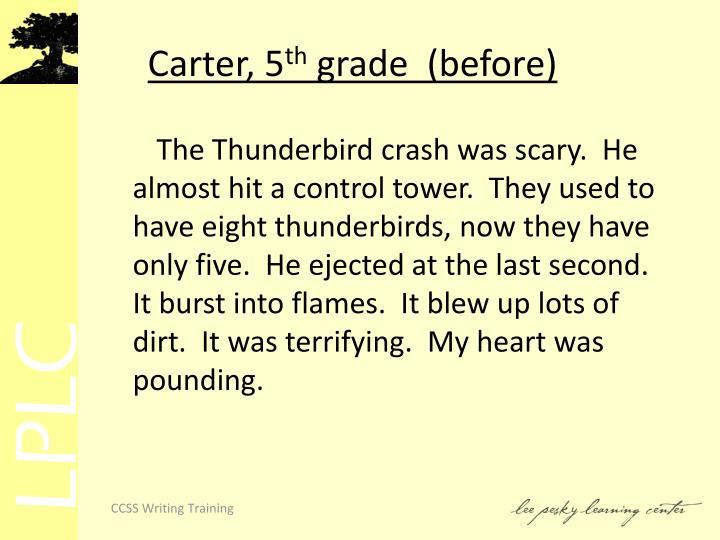 Carter, 5