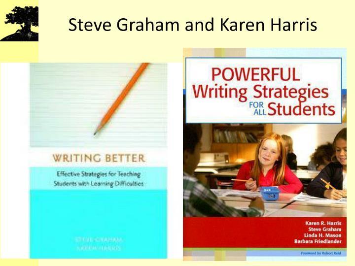 Steve Graham and Karen Harris