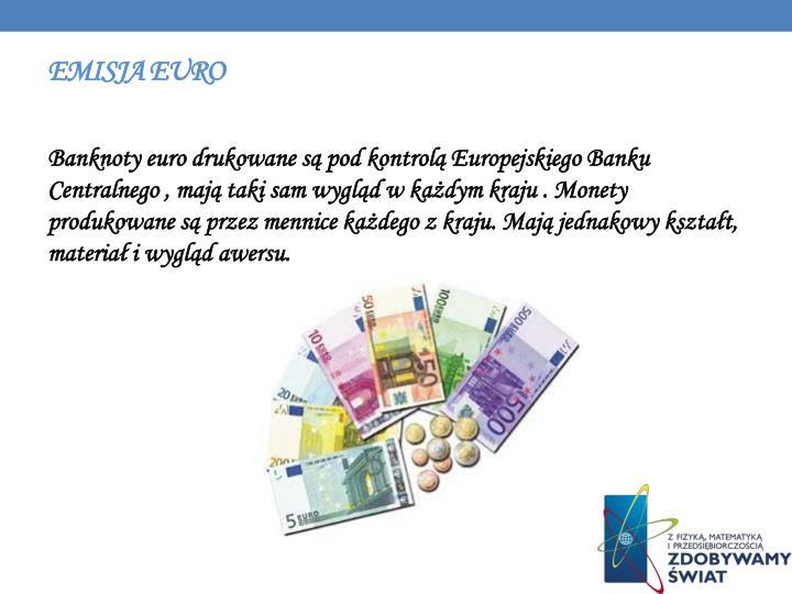 Emisja euro