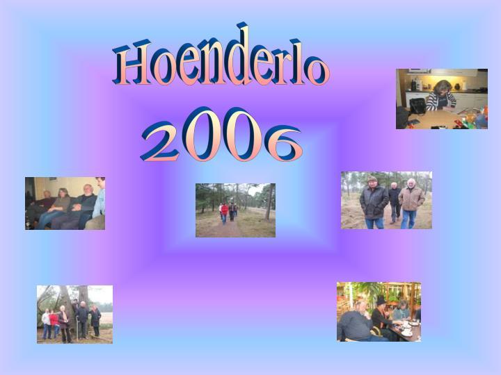 Hoenderlo