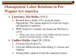 management labor relations in pre wagner act america4