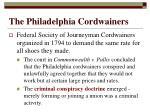 the philadelphia cordwainers