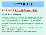 scccr blast15