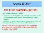 scccr blast16