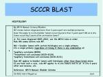 scccr blast23
