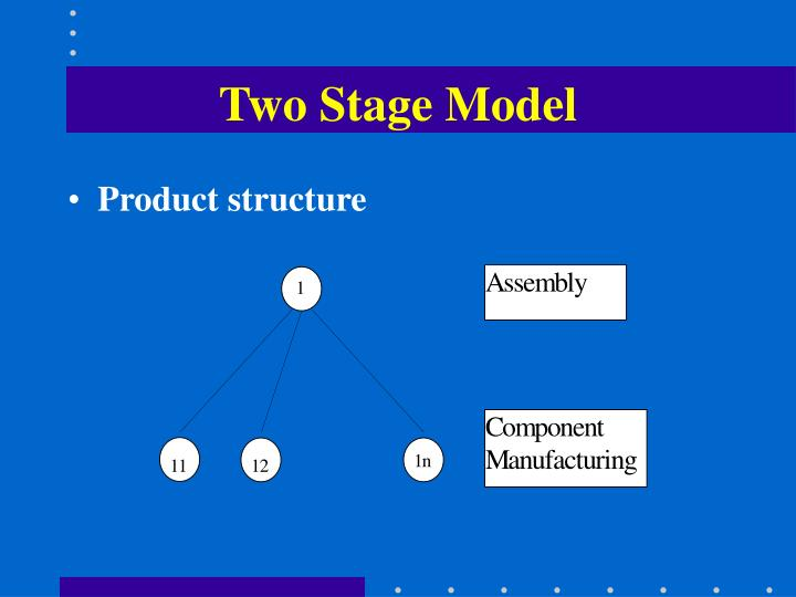 Two Stage Model