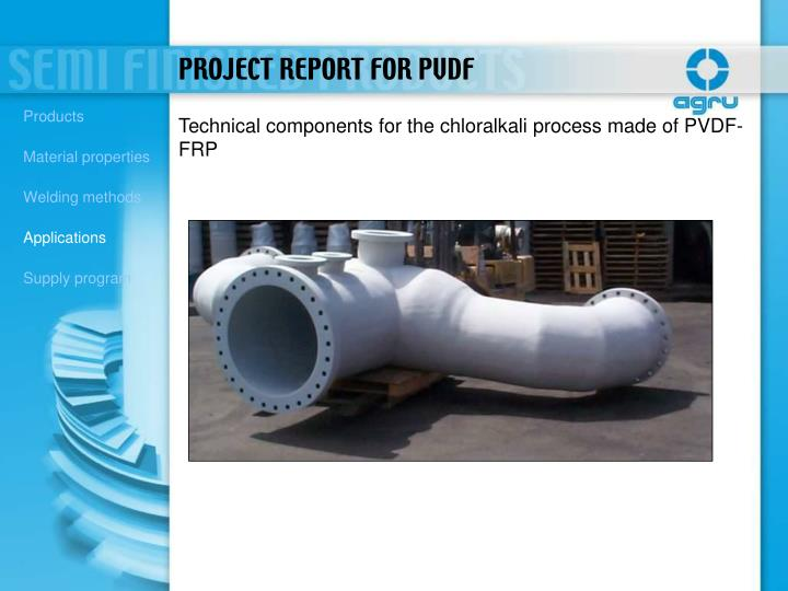 PROJECT REPORT FOR PVDF