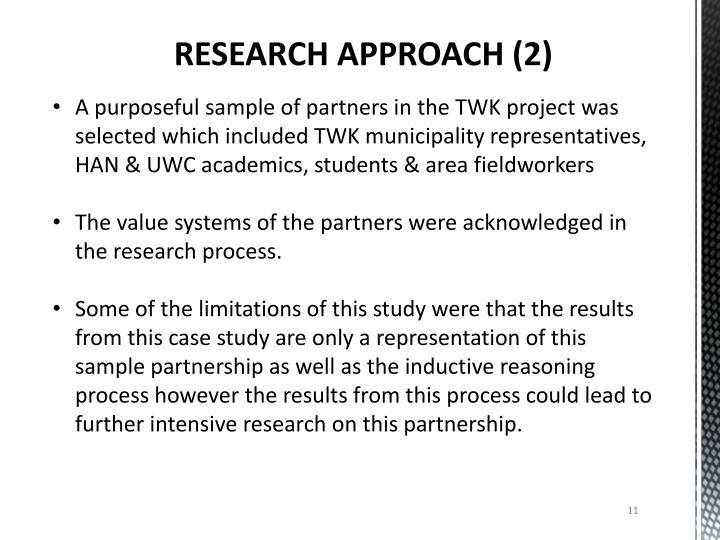 RESEARCH APPROACH (2)