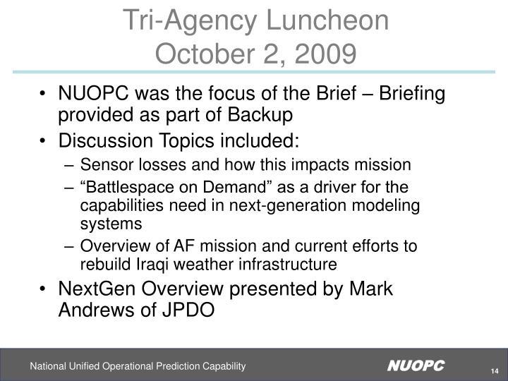 Tri-Agency Luncheon