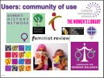 users community of use
