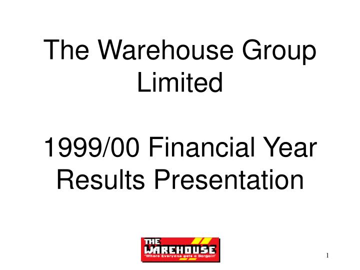 The Warehouse Group Limited