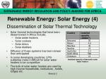 renewable energy solar energy 4