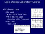 logic design laboratory course10