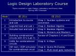 logic design laboratory course4