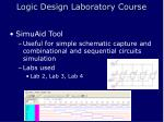 logic design laboratory course8