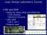 logic design laboratory course9